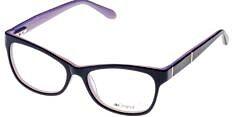Okulary Korekcyjne Lorss LO 2116 A Czarne Kocie Damskie
