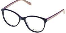 Okulary Korekcyjne Lorss LO 2128 A Czarne Okrągłe Damskie