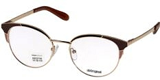 Okulary Korekcyjne Lorss LO 2275 B Kocie Metalowe Damskie