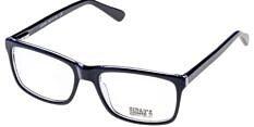 Okulary Korekcyjne Jushu JH 3618 C Czarne Klasyczne Męskie
