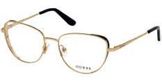 Okulary Korekcyjne Guess GU 2701 032 Kocie Złote Damskie