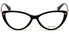 Okulary Korekcyjne Guess GU 2751 001 Kocie Czarne Damskie