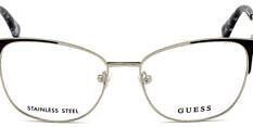 Okulary Korekcyjne Guess GU 2705 005 Kocie Srebrne Damskie