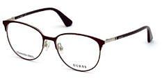 Okulary Korekcyjne Guess GU 2786 082 Czerwone Damskie