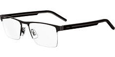 Okulary Korekcyjne Hugo Boss HG 1066 R80 SMTT Szaro Czarne