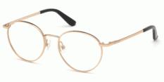 Okulary Korekcyjne Guess GU 2725 028 Złote Okrągłe Damskie