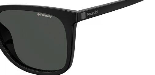Okulary Przeciwsłoneczne Polaroid PLD/S 6101 807 55-M9 Czarne Klasyczne Męskie