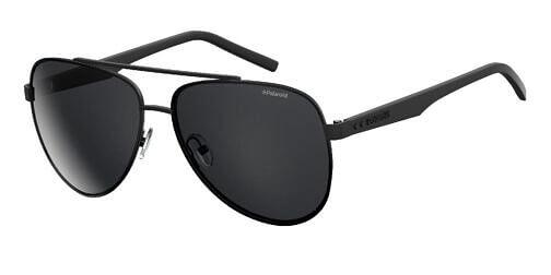 Okulary Przeciwsłoneczne Polaroid PLD/S 2043 807 61-M9 Czarne Pilotki