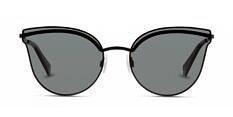 Okulary Przeciwsłoneczne Polaroid PLD 4056 2O5 58-M9 Kocie Czarne Damskie