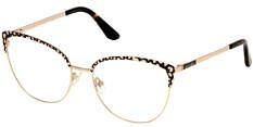 Okulary Korekcyjne Guess GU 2715 050 Rozmiar 54 Kocie Złote Damskie