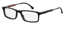 Okulary Korekcyjne CARRERA CA/K 8837 807 Czarne Klasyczne Męskie z Regulowanym Zausznikiem