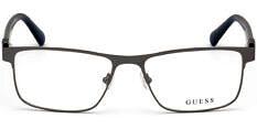 Okulary Korekcyjne Guess GU 50003 009 Klasyczne Szare Męskie