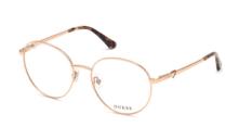 Okulary Korekcyjne Guess GU 2812 028 Okrągłe Złote
