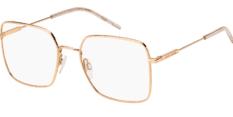 Okulary Korekcyjne TOMMY HILFIGER TH 1728 DDB Złote Prostokątne Damskie