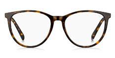 Okulary Korekcyjne TOMMY HILFIGER TH 1751 086 Brązowa Panterka Okrągłe