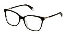 Okulary Korekcyjne FURLA VFU 248 09G5 Czarne Kocie Damskie