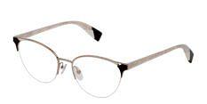 Okulary Korekcyjne FURLA VFU 361 0492 Srebrny Metalowe Damskie