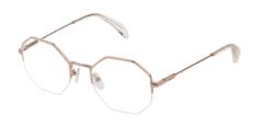 Okulary Korekcyjne TOUS VTO 396 0300 Złote Damskie