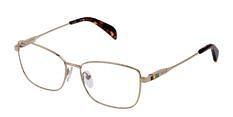 Okulary Korekcyjne TOUS VTO 401S 0300 Złote Damskie