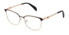 Okulary Korekcyjne TOUS VTO 413 0301 Czarno – Złote Damskie