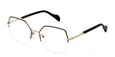 Okulary Korekcyjne TOUS VTO 414 0301 Czarno – Złote Damskie
