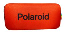 Etui na Okulary Polaroid na Zamek – Czerwone