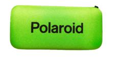 Etui na Okulary Polaroid na Zamek – Zielone