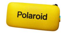 Etui na Okulary Polaroid na Zamek – Żółte