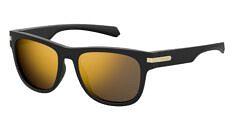 Okulary Przeciwsłoneczne Polaroid PLD/S 2065 I46 54-LM Czarno Złote Męskie