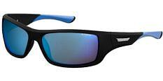 Okulary Przeciwsłoneczne Polaroid PLD/S 7013 EL9 63-5X Sportowe Czarno Niebieskie