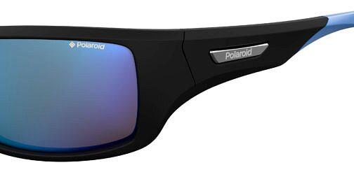 Okulary Przeciwsłoneczne Polaroid PLD 7013S_EL95X_P02 Sportowe Czarne Niebieskie Najlepsze-Okulary.pl