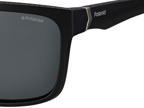 Okulary Przeciwsłoneczne Polaroid PLD 7014S_807M9_P02 Czarne Klasyczne Męskie Najlepsze-Okulary.pl