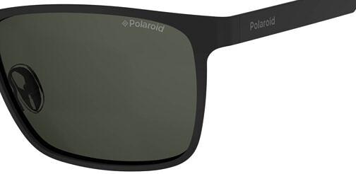 Okulary Przeciwsłoneczne Polaroid PLD 2047S 003 M9 Czarne Klasyczne Męskie Najlepsze-Okulary.pl