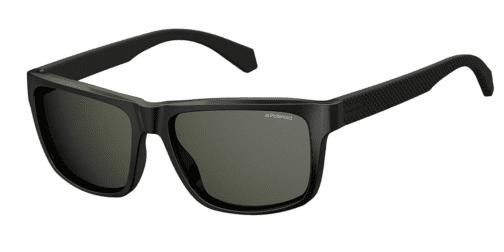 Okulary Przeciwsłoneczne Polaroid PLD 2058 003 55-M9 Czarne Męskie Najlepsze-Okulary