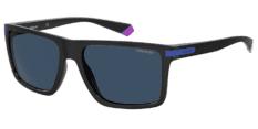 Okulary Przeciwsłoneczne Polaroid PLD/S 2098 OY4 56-C3 Czarno Niebieskie Męskie