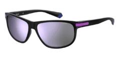Okulary Przeciwsłoneczne Polaroid PLD/S 2099 HK8 58-MF Sportowe Czarne zFioletową Lustrzanką