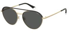 Okulary Przeciwsłoneczne Polaroid PLD/S 2107/X AOZ 56-M9 Czarno Złote