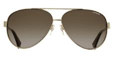 Okulary Przeciwsłoneczne Polaroid PLD/S 4061 J5G 61-LA Złote Aviator