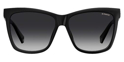 Okulary Przeciwsłoneczne Polaroid PLD 4078 SX 807 WJ Kocie Czarne Damskie Najlepsze-Okulary