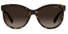 Okulary Przeciwsłoneczne Polaroid PLD/S 4079/X 086 57-LA Brązowa Panterka Damskie
