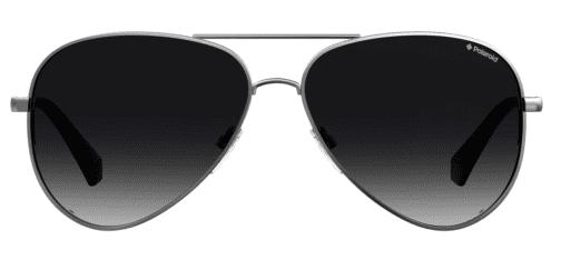 Okulary Przeciwsłoneczne Polaroid PLD 6012 NNEW LBWJ Srebrne Aviator Najlepsze-Okulary