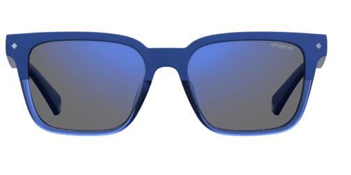 Okulary Przeciwsłoneczne Polaroid PLD 6044S_PJP5X_P02 Niebieskie Klasyczne Najlepsze-Okulary.pl