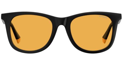 Okulary Przeciwsłoneczne Polaroid PLD 6112FS_71CHE_P02 Czarne Żółte Klasyczne Męskie Najlepsze-Okulary.pl