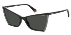 Okulary Przeciwsłoneczne Polaroid PLD/S 6127 08A 57-M9 Czarne Damskie
