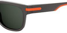 Okulary Przeciwsłoneczne Polaroid PLD/S 2065 RIW 54-M9 Szaro Pomarańczowe Męskie