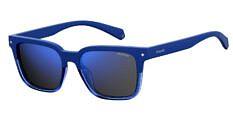 Okulary Przeciwsłoneczne Polaroid PLD/S 6044 PJP 52-5X Niebieskie z Lustrzanką Niebieską