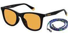Okulary Przeciwsłoneczne Polaroid PLD/S 6112/F 71C 53-HE Żółte Klasyczne