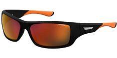 Okulary Przeciwsłoneczne Polaroid PLD/S 7013 CAX 63-OZ Sportowe Czarno Pomarańczowe