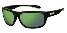Okulary Przeciwsłoneczne Polaroid PLD/S 7022 7ZJ 63-5Z Czarno Zielone Męskie