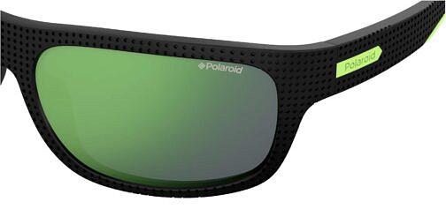 Okulary Prezciwsłoneczne Polaroid PLD 7022S_7ZJ5Z_P02 Sportowe Czarne Zielone Najlepsze-Okulary.pl